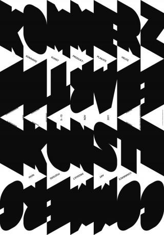 Plakat und Publikation für die Ausstellung »Commerce Art/Kommerz Kunst« | Fabienne Buri