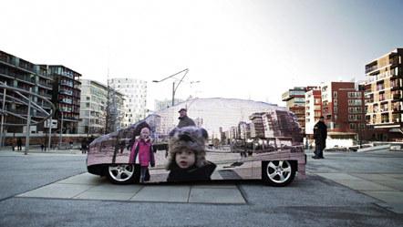 Bild Mercedes Invisible Drive