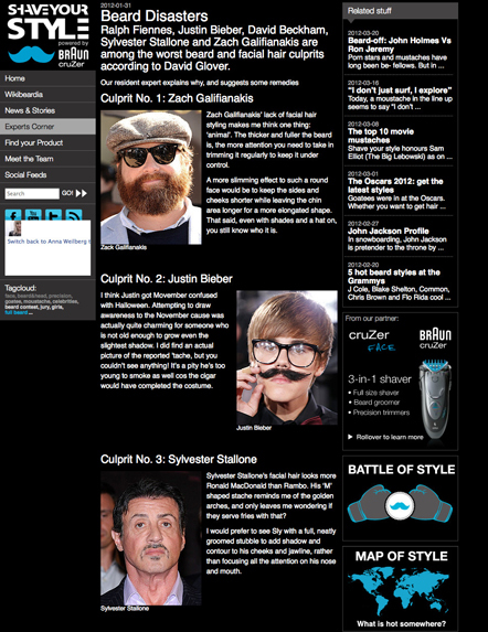 Bild Shave your style