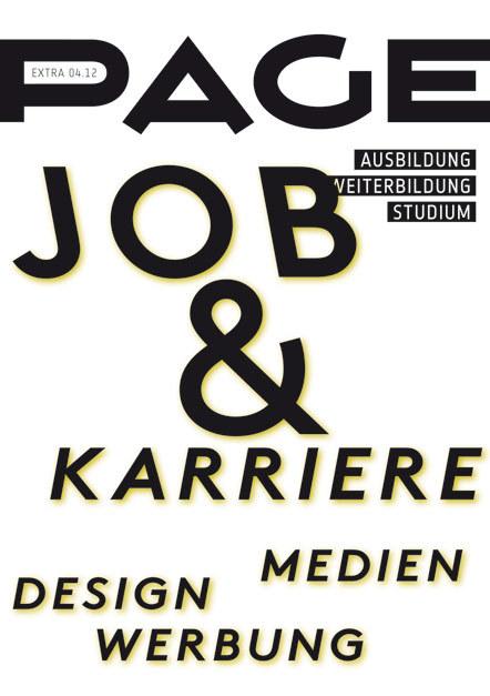 Bild PAGE Booklet Job&Karriere