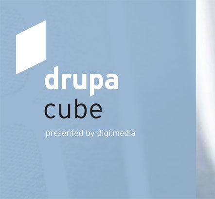 Bild drupa cube 2012
