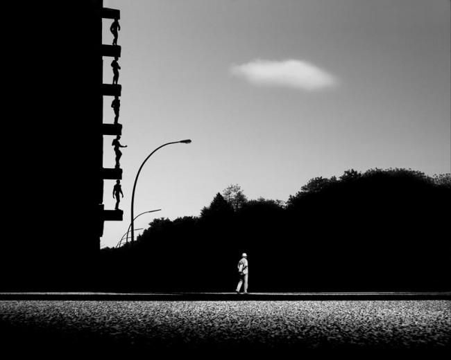 Hamburg #1, 2011. Series: Metaphysics of an Urban Landscape. Fine Art Glicée Print on Cotton Paper