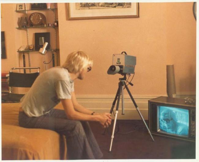 David Hockney, filmstill from »A Bigger Splash«