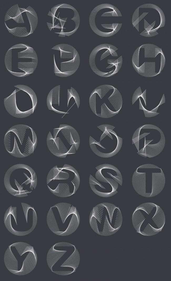 Generativer vvvv-patch von Ingo Italic / Eine mögliche Anwendung dieses dynamischen Typo-patches sieht man im LAMF-Opener von Bärbel Bold, http://vimeo.com/38686633