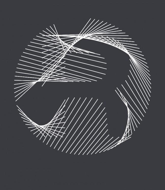 Generatives R aus dem Buchstabengewitter von Ingo Italic
