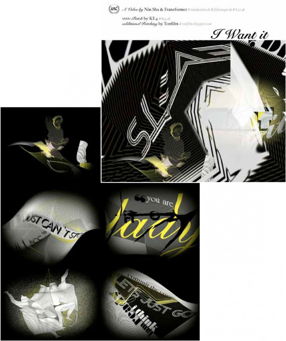 Musicclip für Michael Fakesch's Dos Album; kompletter Clip: http://www.truede-noizer.de/#p44. Von Bärbel Bold