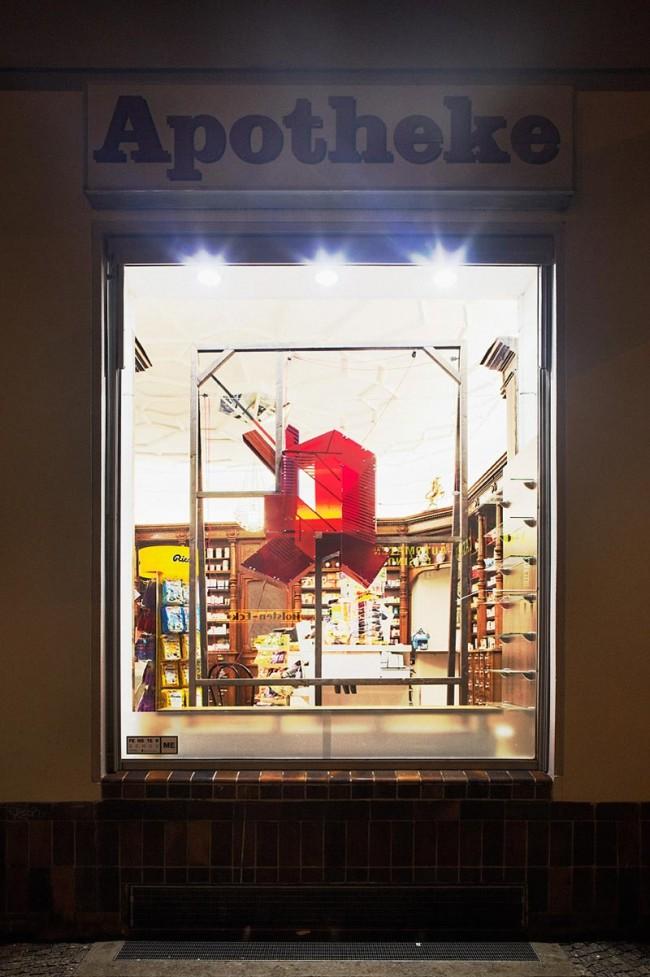 Apotheke zum Goldenen Einhorn, gestaltet von: Michael Erbach