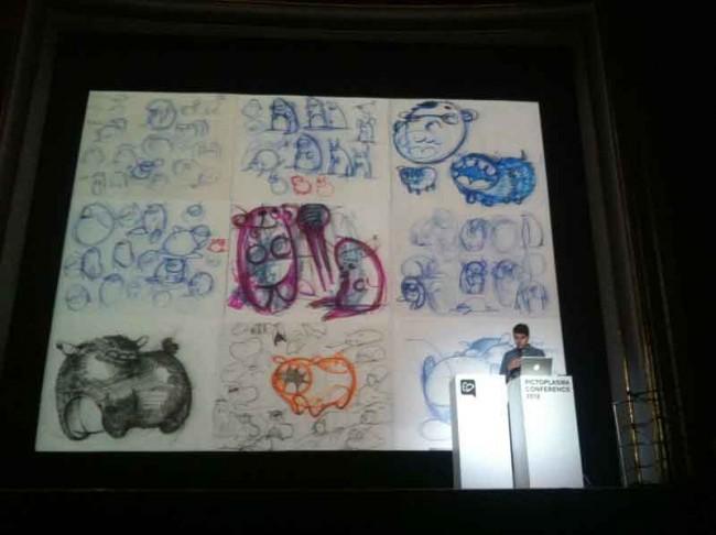 Entwurfsskizzen von Joshua Ben Longo