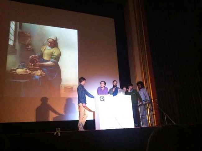 Vorlage für Jeanspezials Vermeer-Variationen