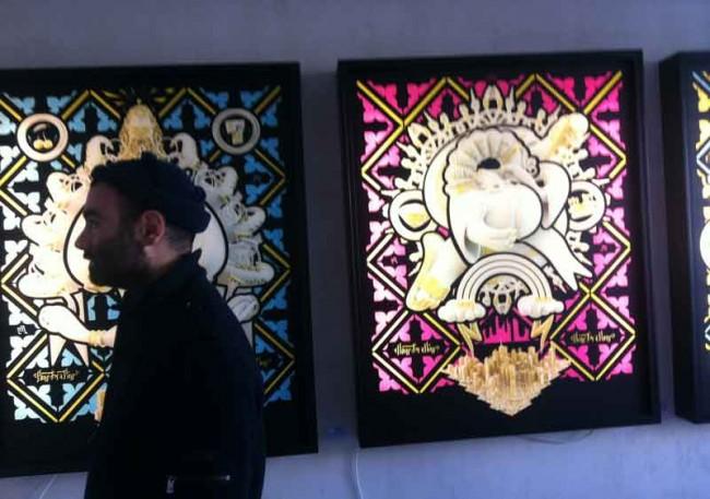 Mark Gmehling Ausstellung auf dem Pictoplasma Character Walk