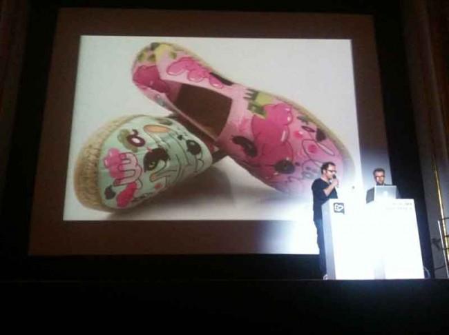 Einer Rosa, einer Grün: Schuh-Design der Sauerkids