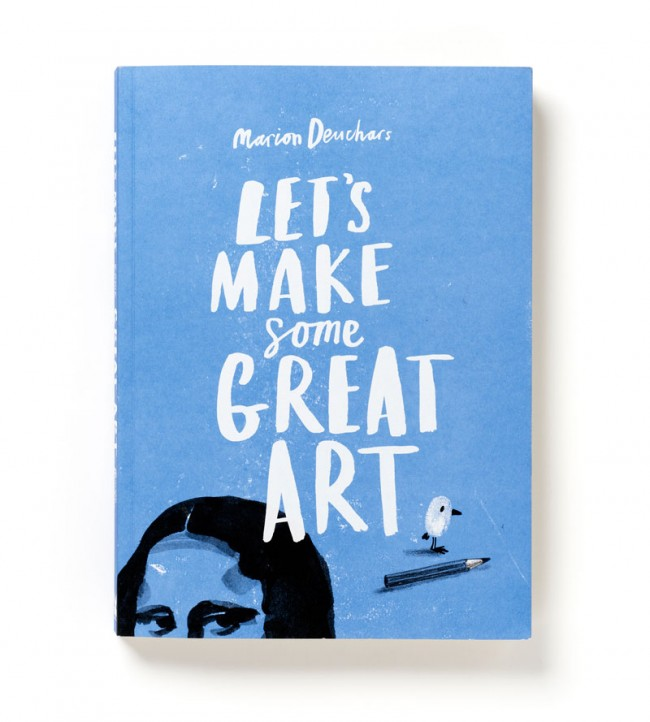 Book Design und Illustration: »Let's Make Some Great Art« von Laurence King Publishing