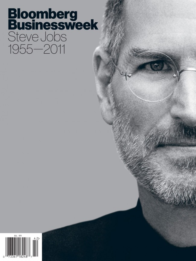 Magazine and Newspaper Design: »Steve Jobs 1955-2011« von Bloomberg für Bloomberg Businessweek