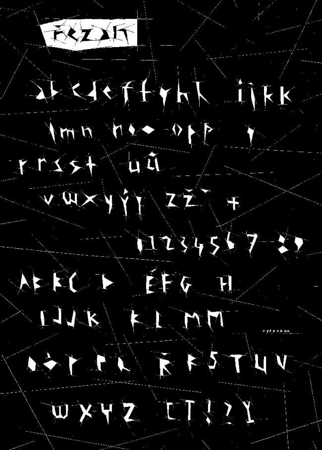 Typografisch ausgerichtetes Design, das Petr Babák mit seinem Prager Studio Laboratory für unterschiedlichste Produkte entwickelt