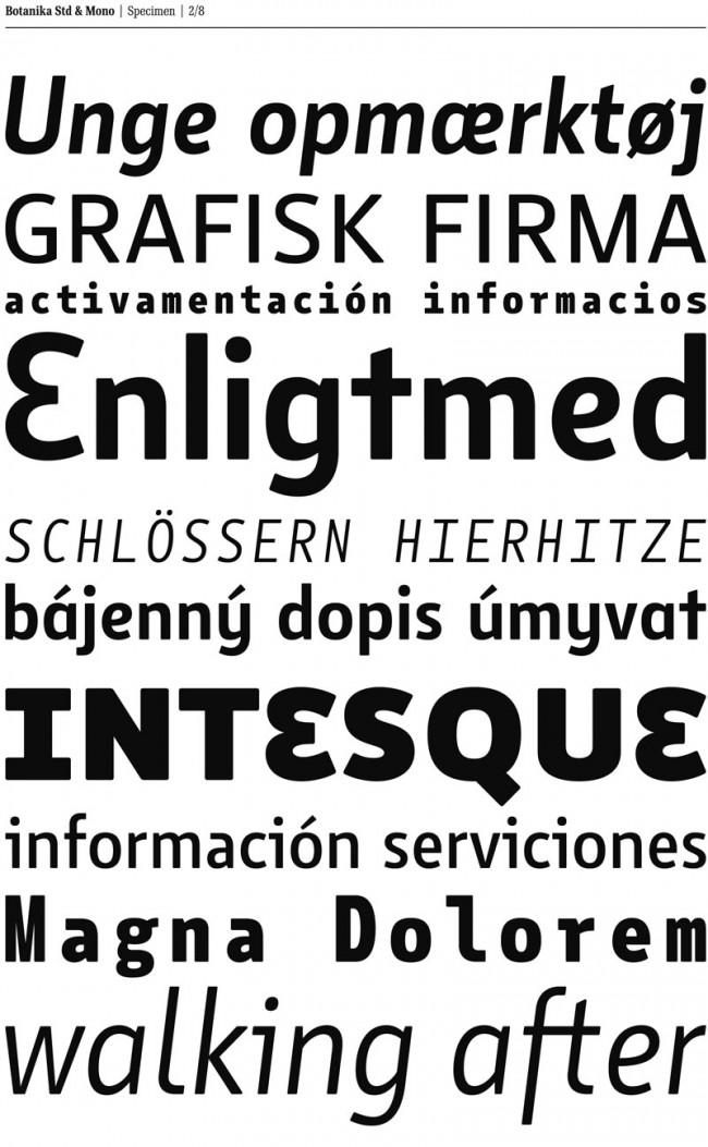 Tomas Brousil ist seit einigen Jahres sehr erfolgreich mit seiner Suitcase Type Foundry, die eine zeitgemäß ausgebaute Bandbreite an Fonts anbietet