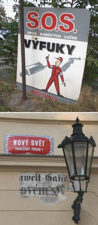 Typo-Impressionen aus Tschechien KPS 2008