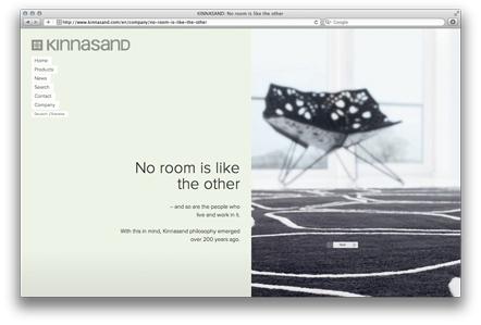 Bild Webseite Kinnasand