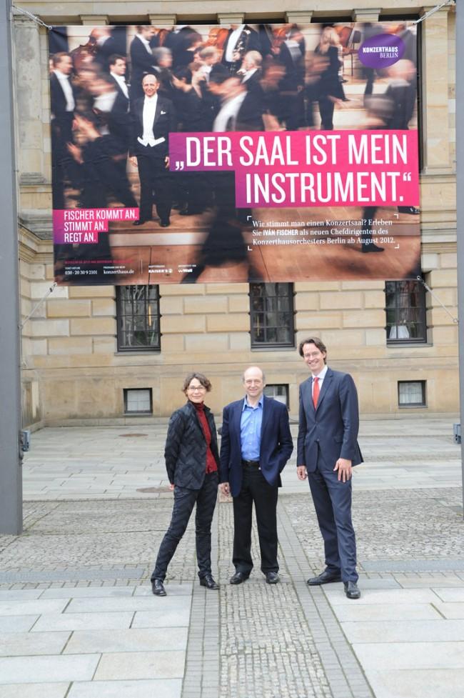 Uli Mayer-Johanssen, Ivan Fischer, Sebastian Nordmann
