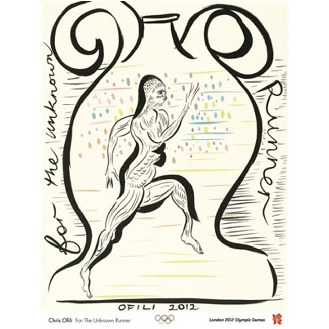 Olympic poster - Chris Ofili