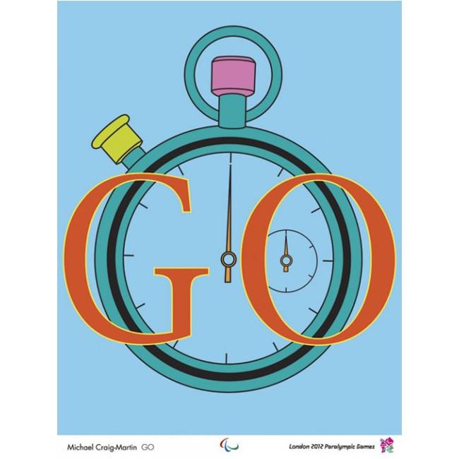 Paralympic poster - Michael Craig Martin