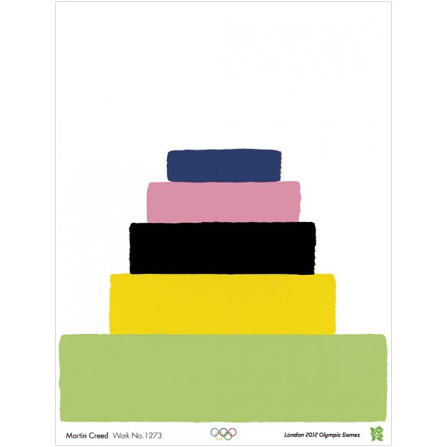 Olympic poster - Martin Creed