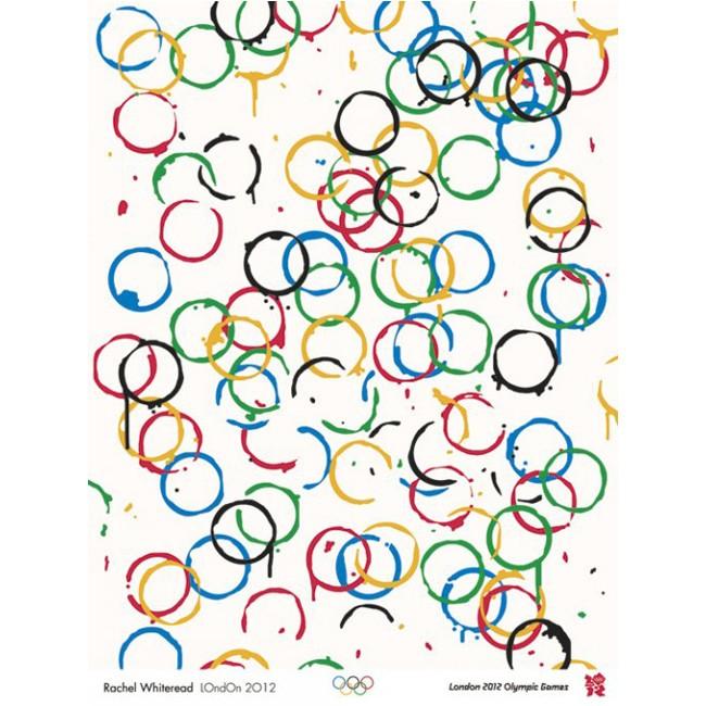Olympic poster - Rachel Whiteread