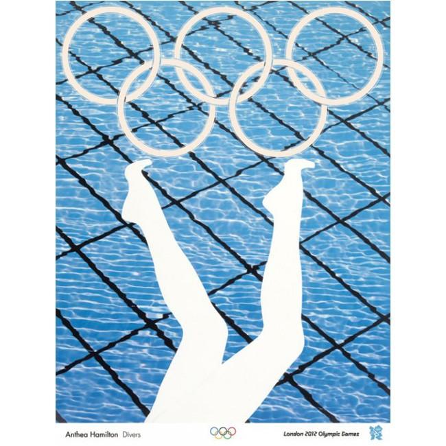 Olympic poster - Anthea Hamilton