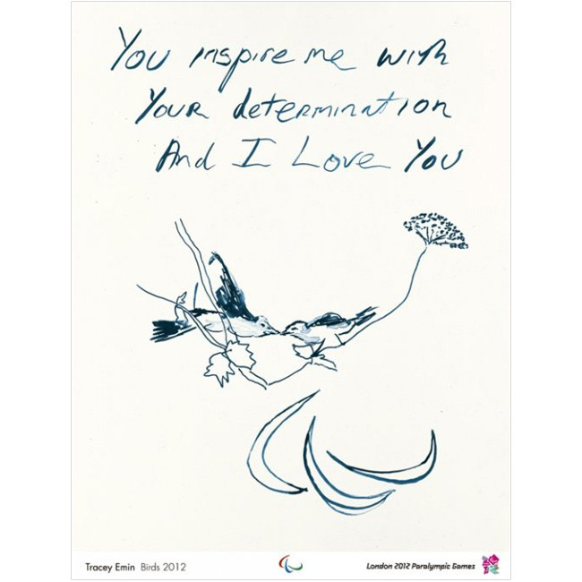 Paralympic poster - Tracey Emin