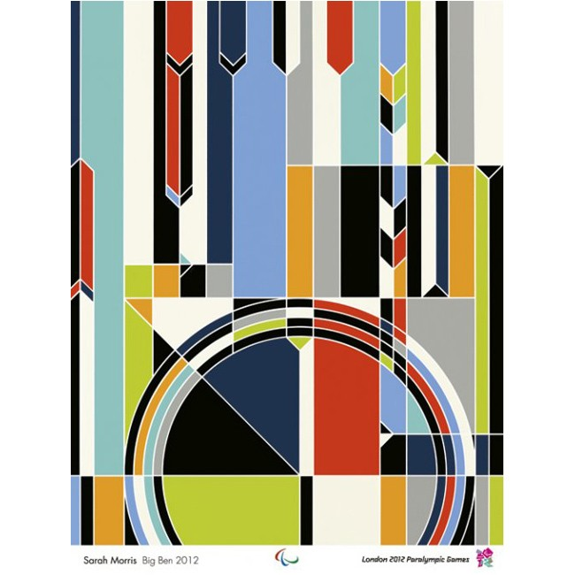 Paralympic poster - Sarah Morris