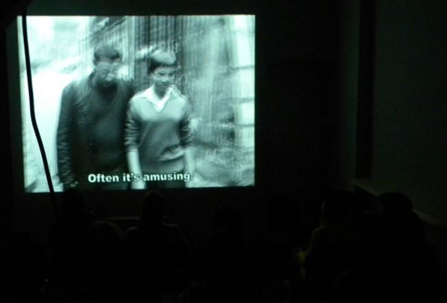 Filme und Ausstellungen sind Teil des Atelierskonzepts