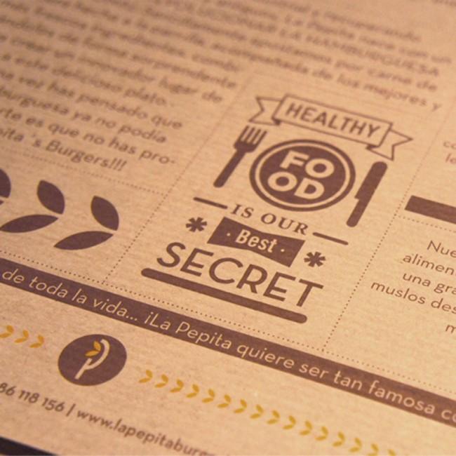 Konzept-Design für die Burger-Bar »La Pepita«