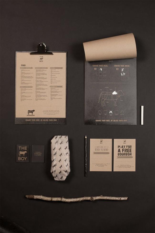 Branding Steakhouse (fiktives Projekt)