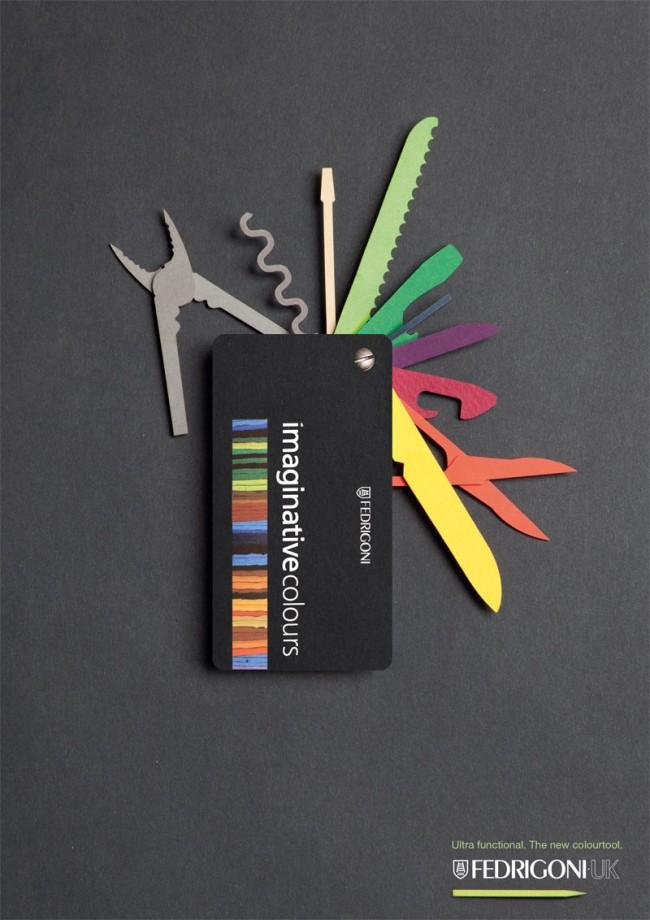 Ultrafunktional das neue Colourtool von Fedrigen | Fedrigen (Wettbewerb YCN)