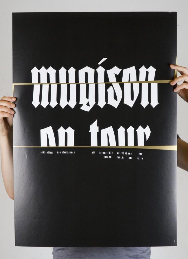Mugison / Mugiboogie - Tourplakat (2008)