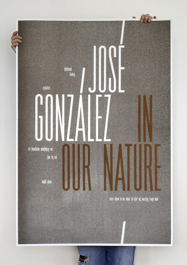 José González / In Our Nature - Tourplakat (2007)