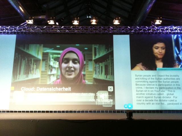 Leila Nachawati: Solidaritätsbekundungen auf YouTube