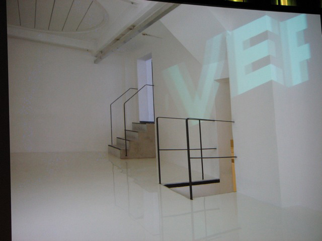 Installation von Ruedi Baur