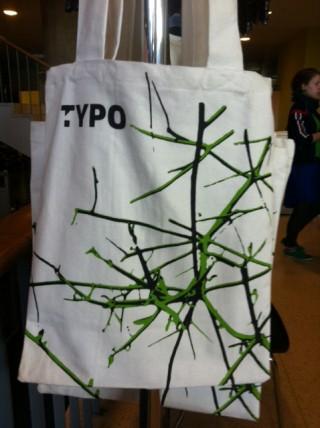 Die diesjährige TYPO-Tasche