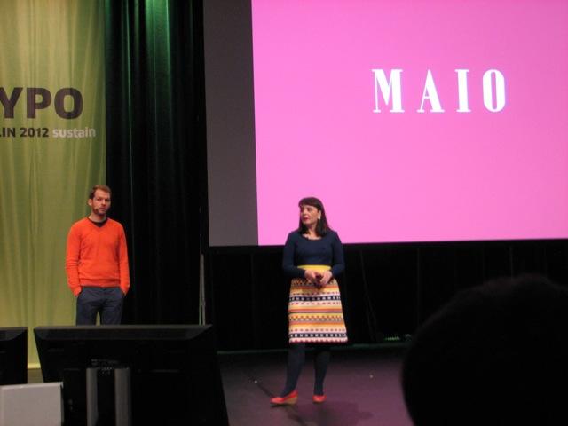 Lupi Asensio und Martin Lorenz von TwoPoints.Net, Barcelona