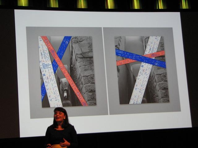 Klebebänder von TwoPoints.Net, Barcelona im Einsatz