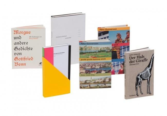 Die fünf Gewinner in der Kategorie ALLGEMEINE LITERATUR