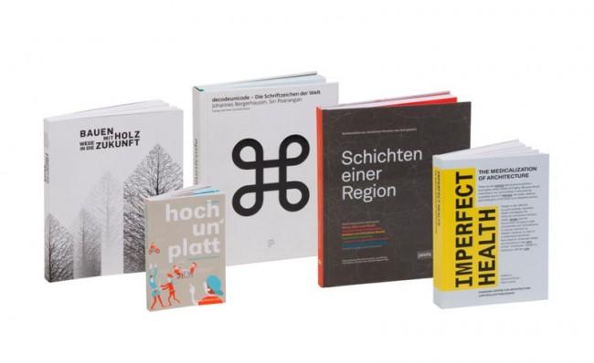 Die fünf Gewinner in der Kategorie WISSENSCHAFTLICHE BÜCHER, SCHULBÜCHER, LEHRBÜCHER