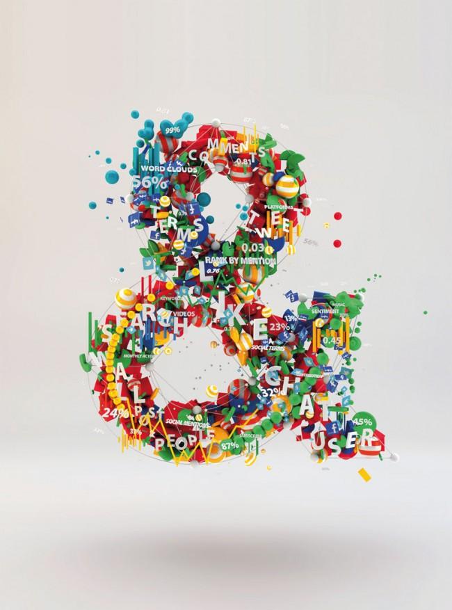 Digitale Illustration (ungenutzt) für Adobe Social Analytics