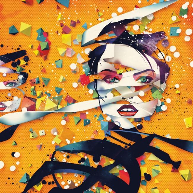 Vektorillustration für ein Designmagazin »Computer Arts«