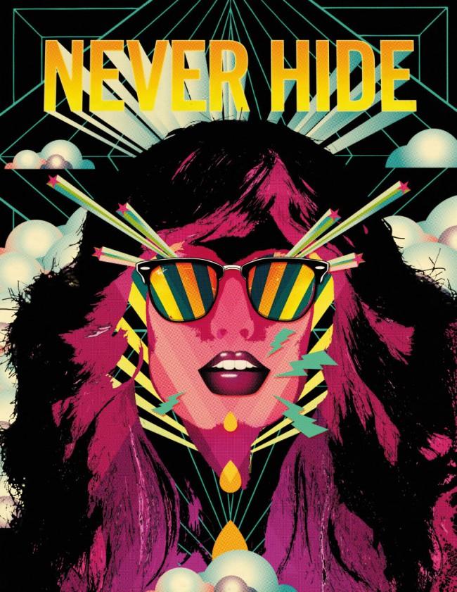 Illustration für die Ray Ban »Never Hide« Clubmaster Kampagne