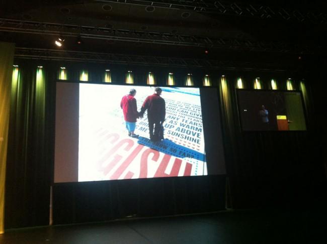 Ein großer Besucher-Erfolg: der Blackpool Comedy Carpet