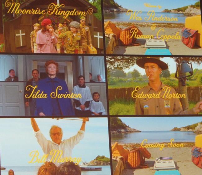 Typografie von Jessica Hische für den neuen Wes Anderson Film »Moonrise Kingdom«
