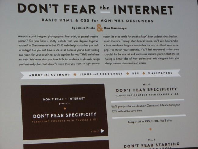 Website von Jessica Hische