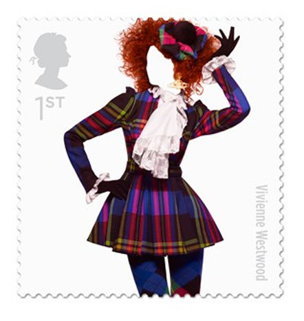 Bild Fashion designer stamps Royal Mail