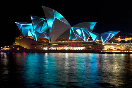 Bild Vivid Sydney 2011